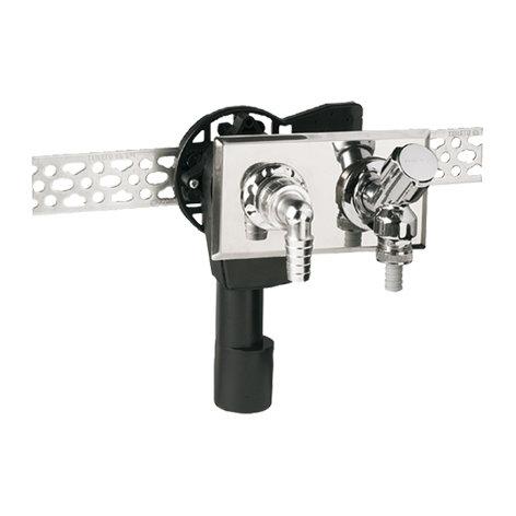 Haas Unterputz-Waschgeräte-Siphon OHA 4060 waagerecht DN 40/50