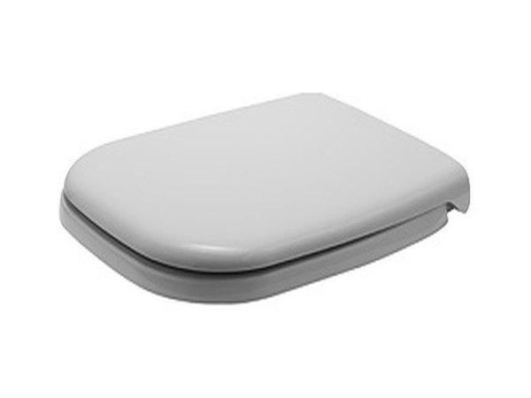 Duravit WC-Sitz D-CODE m.Deckel weiß Scharniere KS m.SoftClose 67390000