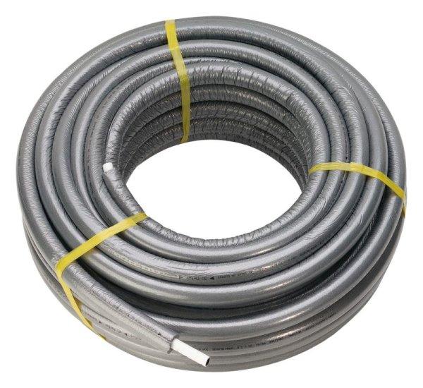 Viega Rohr Sanfix FOSTA 2102.5 mit 9mm Dämmung 16x2,2mm Kunststoff grau 446352