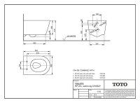Toto RP Wand-WC CW552Y Tornado Flush, Spülrandlos