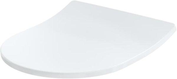 TOTO WC-Sitz TC514G mit Absenkautomatik weiß, Edelstahlscharniere, extra flach