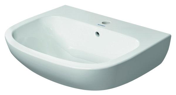 Duravit Waschtisch D-Code 600x460mm weiß 231060