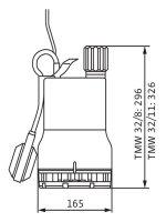 Wilo Schmutzwasser-Tauchmotorpumpe Drain TMW...