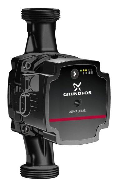 GRUNDFOS Hocheffizienz Umwälzpumpe ALPHA Solar 25-75 PN10 G1 1/2 130mm 1x230V 98989299
