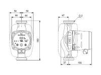 GRUNDFOS Hocheffizienz Umwälzpumpe ALPHA2 32-40 N 180mm 1x230V G2 DACH 99271994
