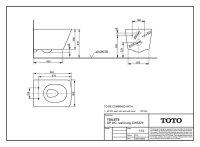 TOTO SP Wand-WC CW532Y Tornado Flush, Spülrandlos