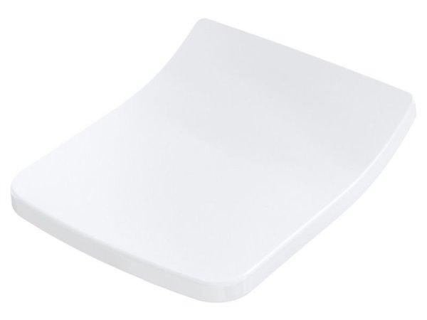 TOTO WC-Sitz SP TC512G, weiß abnehmbar mit Edelstahlscharnieren und Absenkautomatik