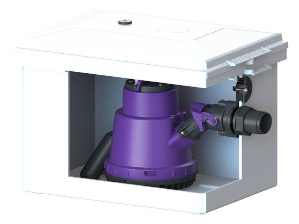 KESSEL-Schmutzwasser-Hebeanlage Minilift Kunststoff f. Überflurinstallation 28560